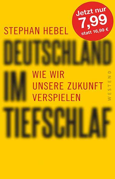 Stephan Hebel – Deutschland im Tiefschlaf