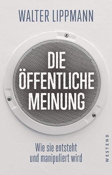 Cover Walter Lippmann - Die öffentliche Meinung