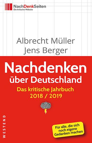 Cover Mueller, Berger - Nachdenken ueber Deutschland