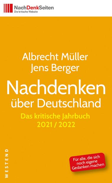 Buchcover – Das kritische Jahrbuch, Albrecht Müller, Nachdenkseiten
