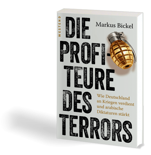 Buchcover: Markus Bickel – Die Profiteure des Terrors