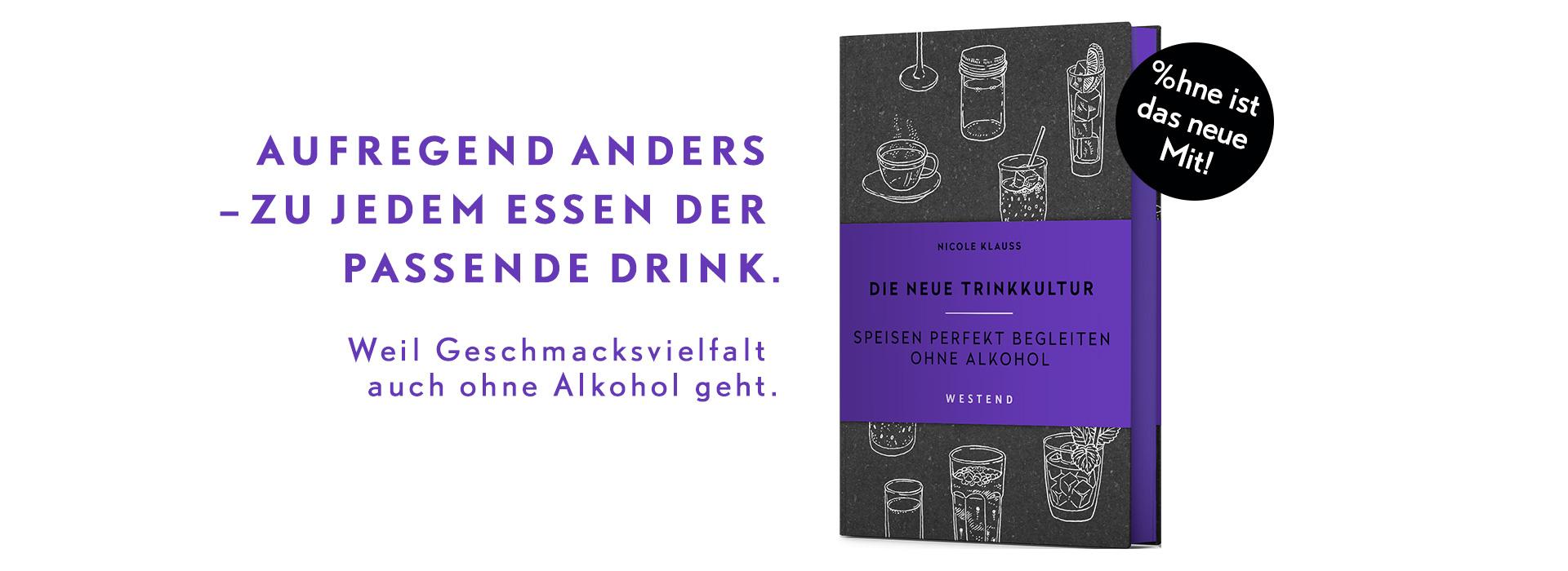 Banner: Nicole Klauß – Die neue Trinkkultur